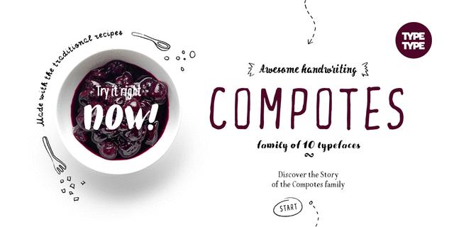 TT Compotes Apple Font for Web & Desktop on Rentafont