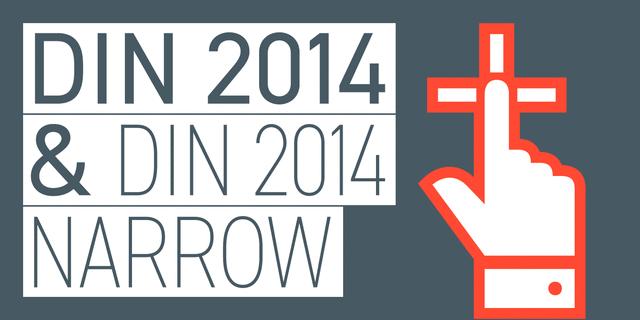DIN 2014 Regular Font for Web & Desktop on Rentafont