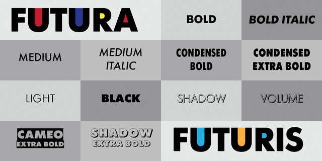 Condensed Bold Font